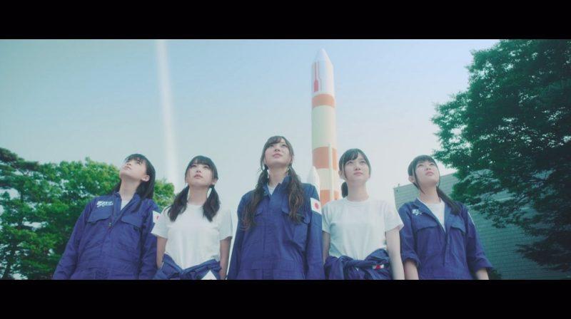 大園桃子、与田祐希、梅澤美波、山下美月、岩本蓮加(乃木坂46『空扉』MV)