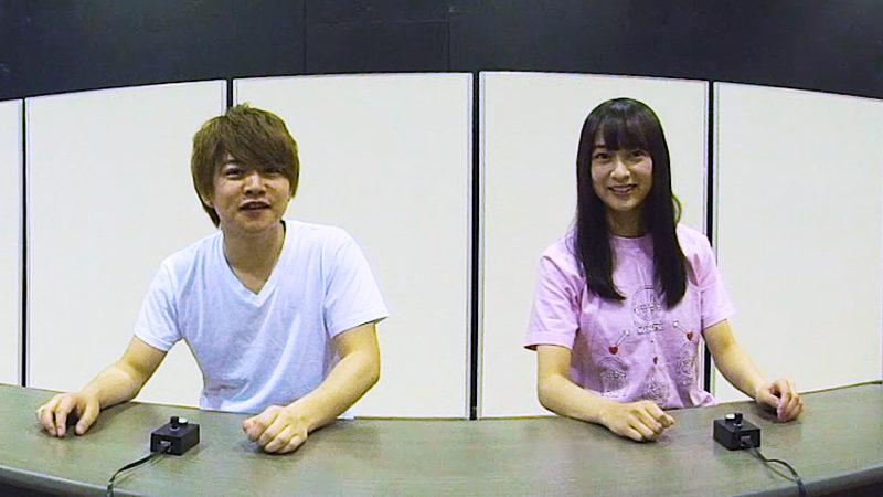 稽古場VR『ナナマル サンバツ THE QUIZ STAGE』(西井幸人、鈴木絢音)