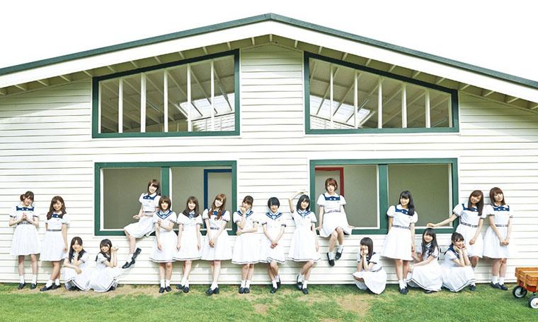 乃木坂46・12thシングル「太陽ノック」アーティスト写真