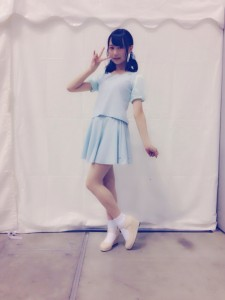 2014年6月21日神奈川個別握手会・鈴木絢音の私服