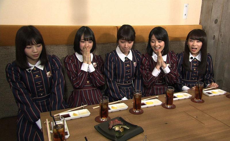 TBS「東京絶品グルメ 乃木坂46の食べるだけ」