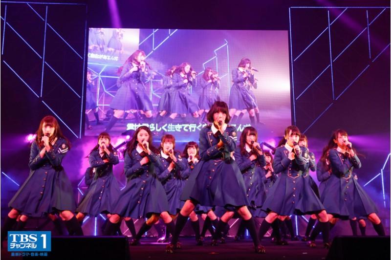欅坂46、貴重な舞台裏を収録した「デビューカウントダウンライブ」完全版がテレビ初独占放送