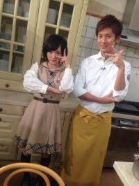 生駒里奈(左)、寺田真二郎(左)