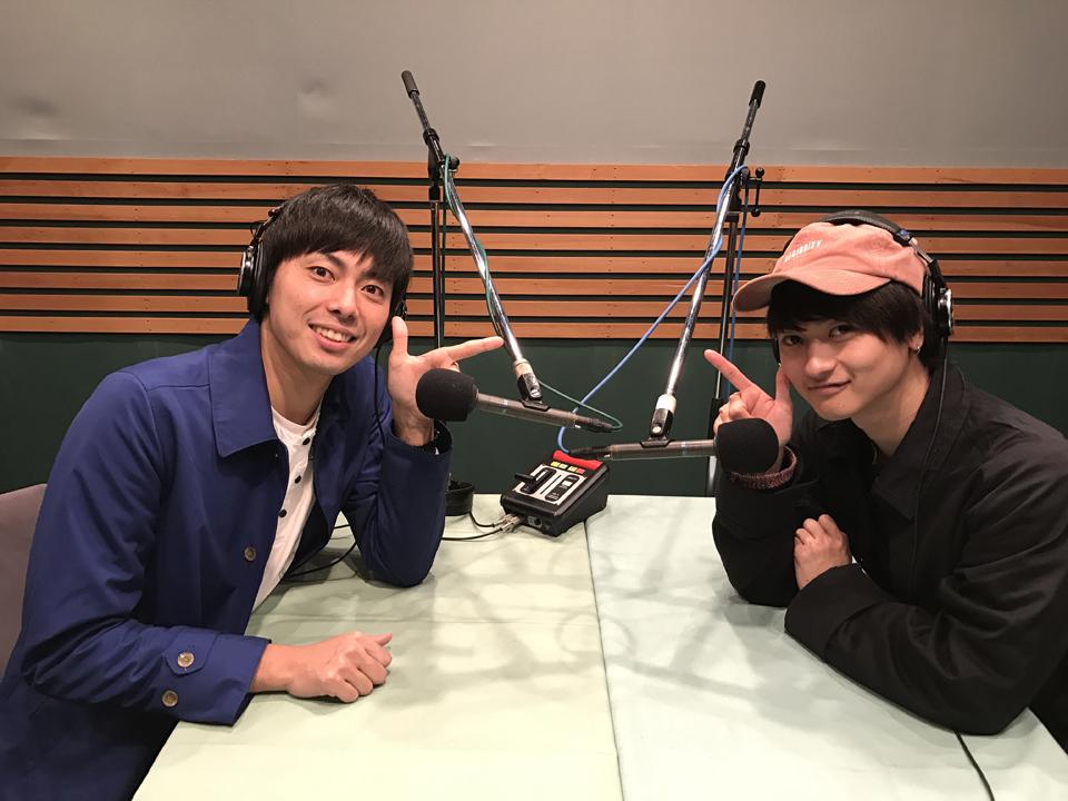 ラフレクラン・西村真二(左)とDISH//・橘柊生(右)