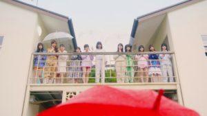 乃木坂46・3期生『トキトキメキメキ』MVの1シーン