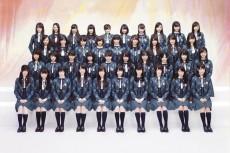 乃木坂46・1stアルバム「透明な色」アーティスト写真
