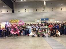 握手会で行われた和田まあやの16歳の生誕祭