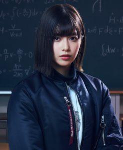 欅坂46・渡邉理佐(6thシングル「ガラスを割れ!」アーティスト写真)