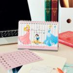 ちゃんとオトナで、ちゃんと可愛い♥ ディズニープリンセスカレンダー(講談社「with」2019年1月号特別付録)©Disney