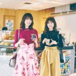 土生瑞穂&守屋茜(講談社「with」2018年2月号・もし、欅坂46がOLだったなら……)