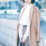 志田愛佳(講談社「with」2018年2月号・もし、欅坂46がOLだったなら……)