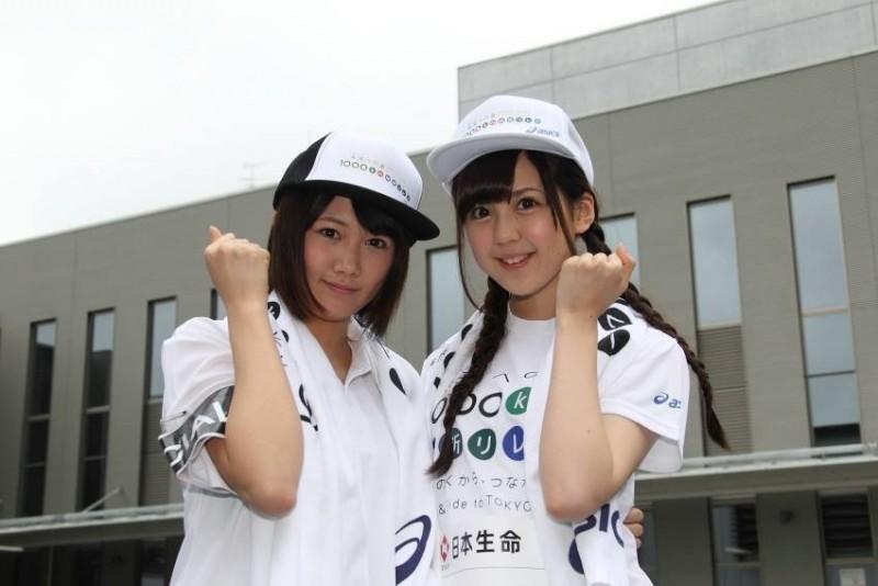 乃木坂46大和里菜が参加した「1000km縦断リレー」の模様をUstreamで配信中