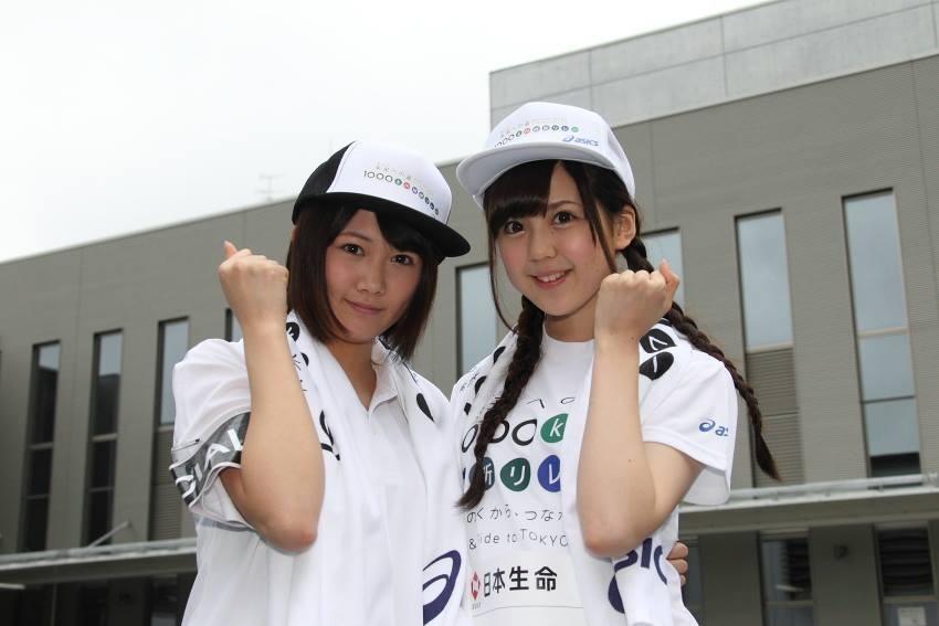 乃木坂46大和里菜が「未来への道 1000km縦断リレー」に参加