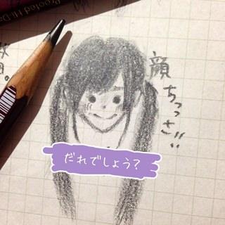 乃木坂46の山崎怜奈が描いた寺田蘭世