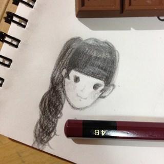 乃木坂46の山崎怜奈が描いた堀未央奈