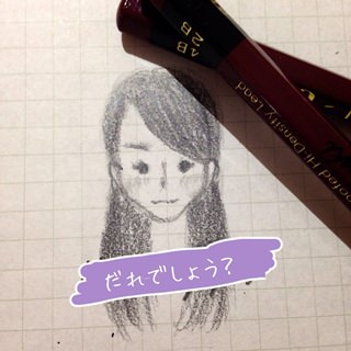 乃木坂46の山崎怜奈が描いた佐々木琴子