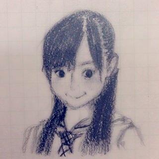 乃木坂46の山崎怜奈が描いた米徳京花