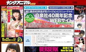 次号「ヤングアニマル」の表紙・巻頭グラビアに乃木坂46桜井、白石、松村が登場