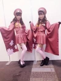 (左)西野七瀬、斉藤優里