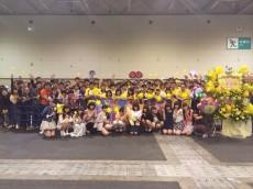 5月18日にポートメッセなごやで行われた永島聖羅の20歳の生誕祭